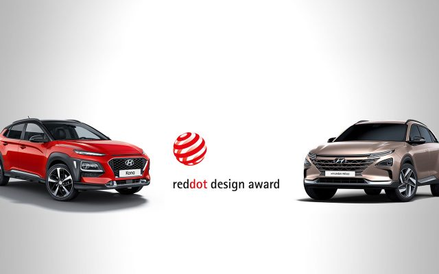 post blue magazine thumbnails : red-dot-design-award-2018-voor-hyundai-kona-en-nexo